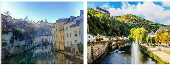 Attractions in Luxembourg