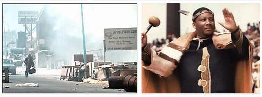Lesotho History Timeline